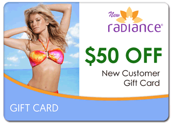 $50 Free New Radiance Gift Card